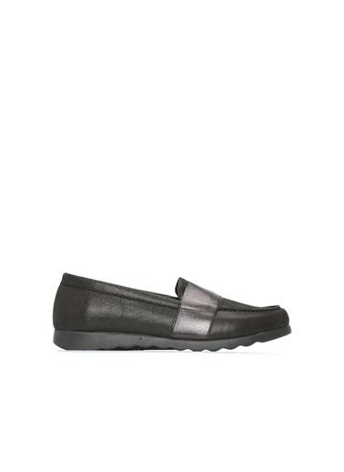Divarese Divarese 5023902 Kadın Deri Ayakkabı Siyah